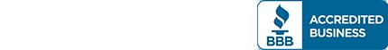 white trustpilot logo and bbb badge