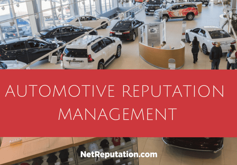 Automotive Reputation Management