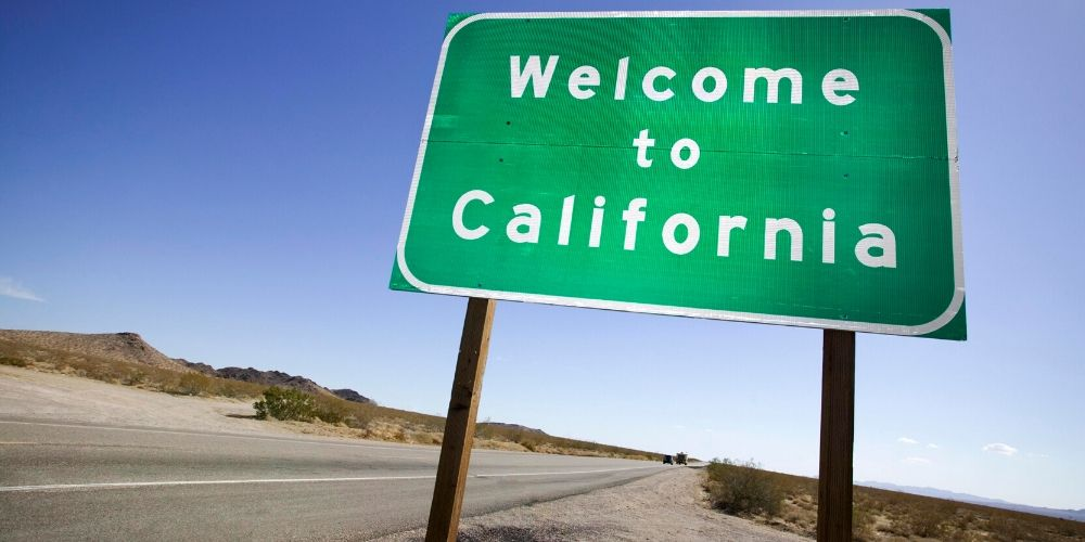 California mugshot law welcome sign