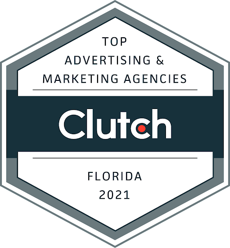 We are Clutch's Top Marketing Agency in Florida for 2021!