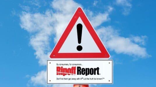 Net Reputation's ripoff report removal service