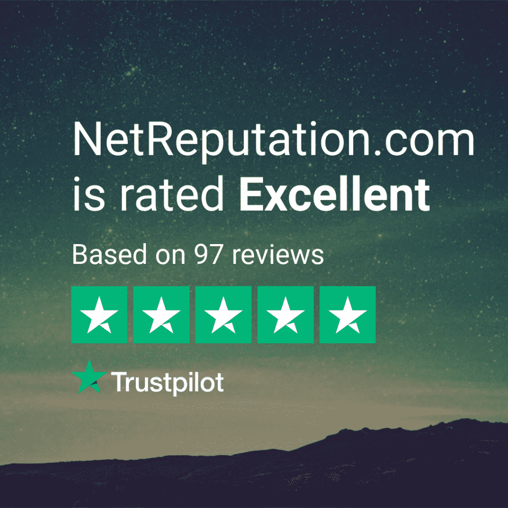 NetReputation.com on Trustpilot