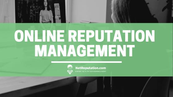 Online Reputation Management - NetReputation