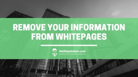 Remove Your Information from WhitePages