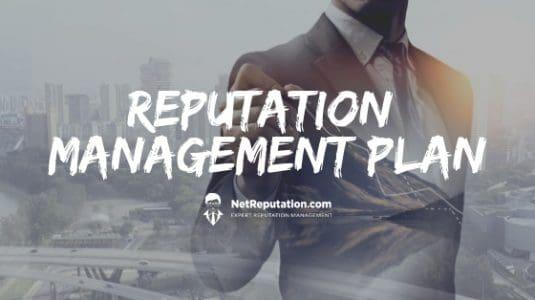 Reputation Management Plan - NetReputation