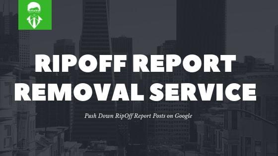 Ripoff Report Removal thumbnail