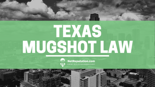 Texas Mugshot Law - Net Reputation