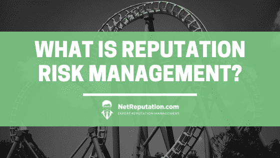 What is Reputation Risk Management - NetReputation