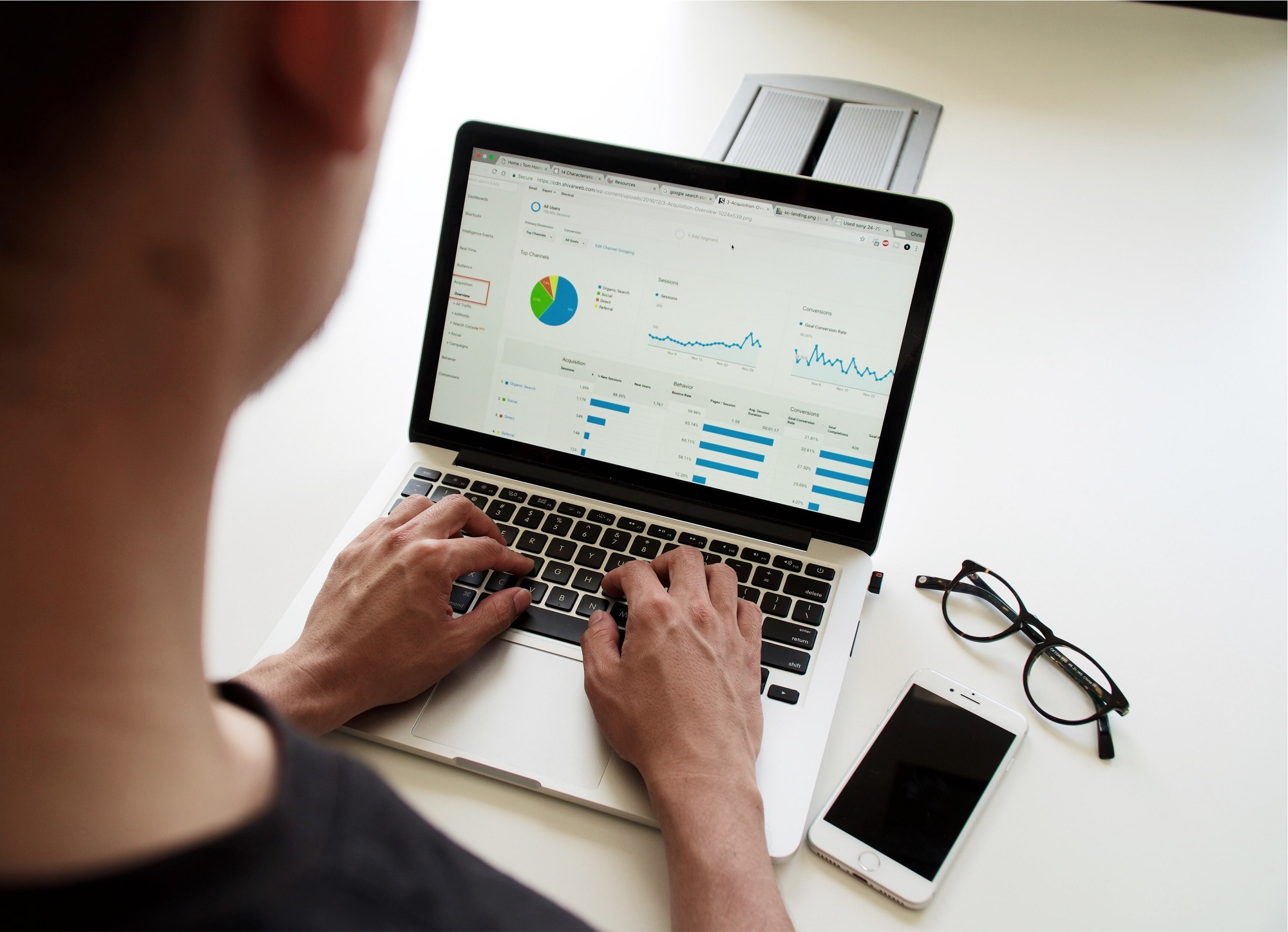analytics online reviews and local seo