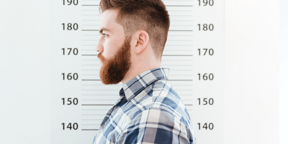 how to remove mugshot of man online