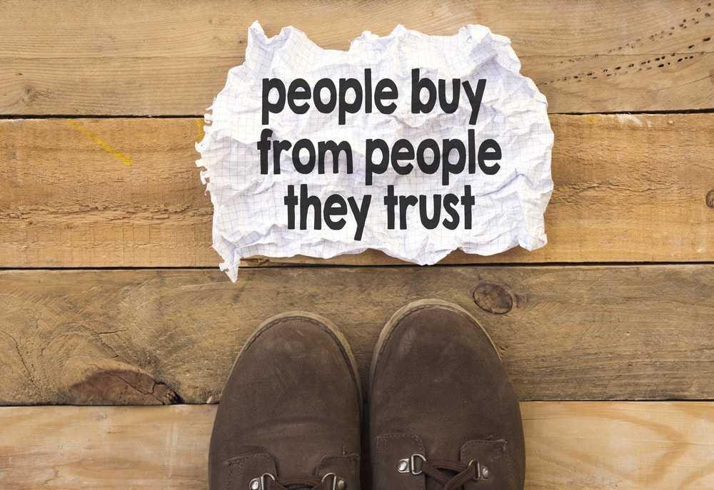 Online Reputation Repair people buy from people they trust
