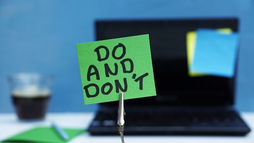 ORM strategy do's and dont's