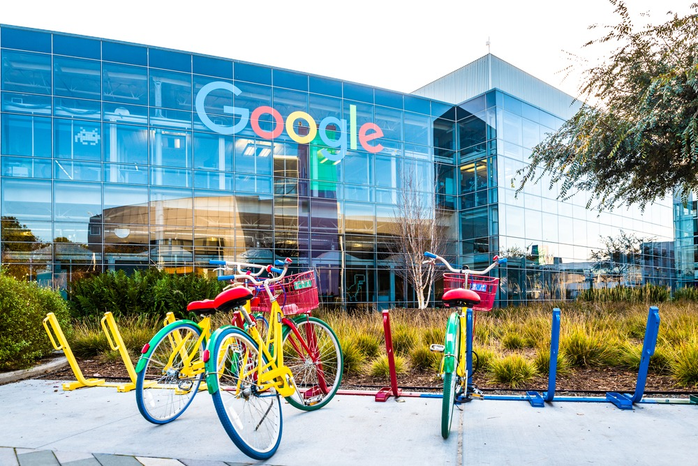 Google Building with Bikes Outside
