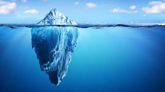 ice berg analogy