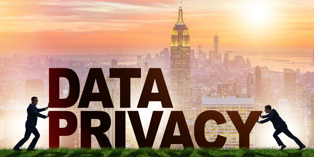 what is doxxing with data privacy sign