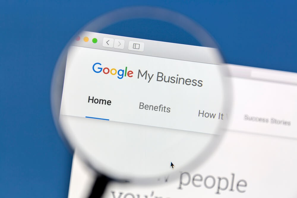 edit Google My Business listing